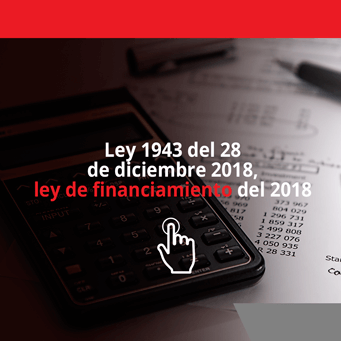 alt Ley 1943 del 28 de diciembre de 2018